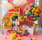 Как оригинально и просто украсить детский праздник воздушными шарами