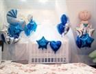 Как украсить комнату шарами на выписку из роддома?