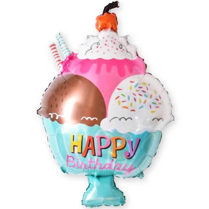 """Воздушный шар """"Мороженое с вишенкой"""" - фото 4930"""