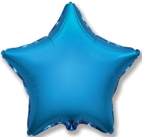 "Воздушный шар звезда 46 см ""Синий"" - фото 4961"