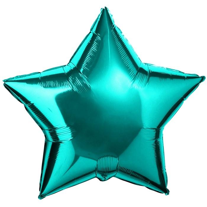 "Воздушный шар Звезда 46 см ""Тиффани"" - фото 4965"