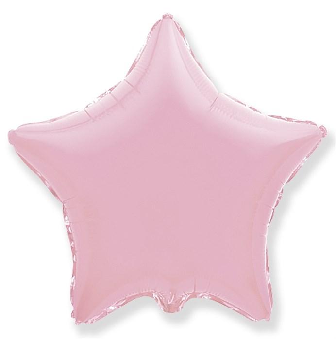 """Воздушный шар звезда 46 см """"Розовый"""" - фото 4966"""