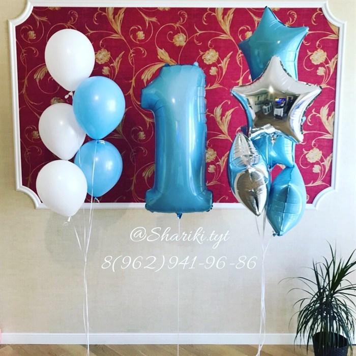 Набор воздушных шариков на день рождения №27 - фото 5038