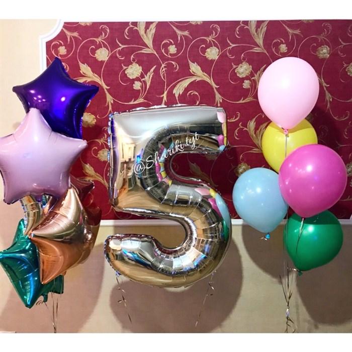 Набор воздушных шариков на день рождения №29 - фото 5049