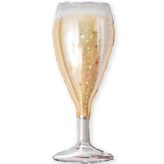 """Воздушный шар на вечеринку """"Бокал шампанского"""" - фото 5088"""