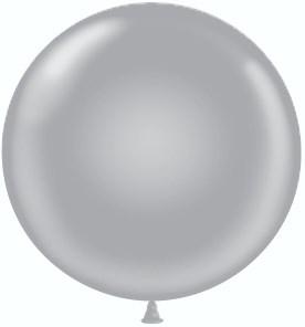 """Воздушный шар гигант """"серебро"""" - фото 5279"""