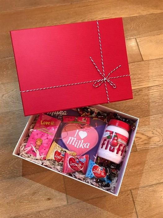 "Сладкий подарочный набор для любимой ""Love Box MAXI"" - фото 5320"