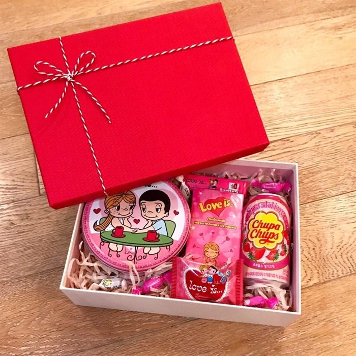 """Сладкий подарочный набор для любимой """"Love Box Optimal"""" - фото 5324"""