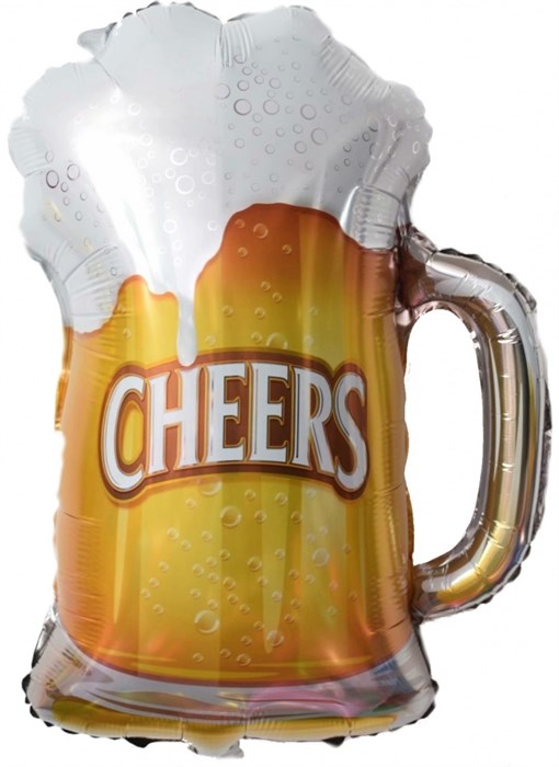 """Воздушный шар на вечеринку """"Пиво в кружке"""" - фото 5365"""