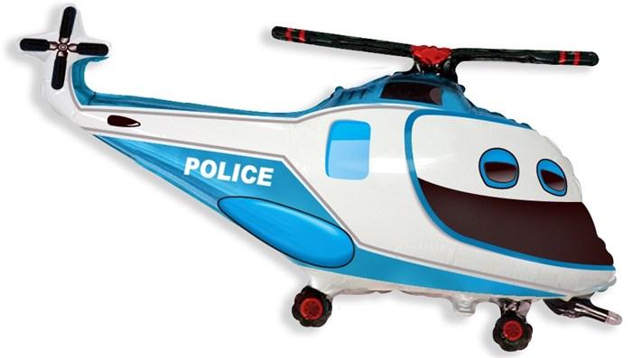 Воздушный шар Полицейский вертолет - фото 5393