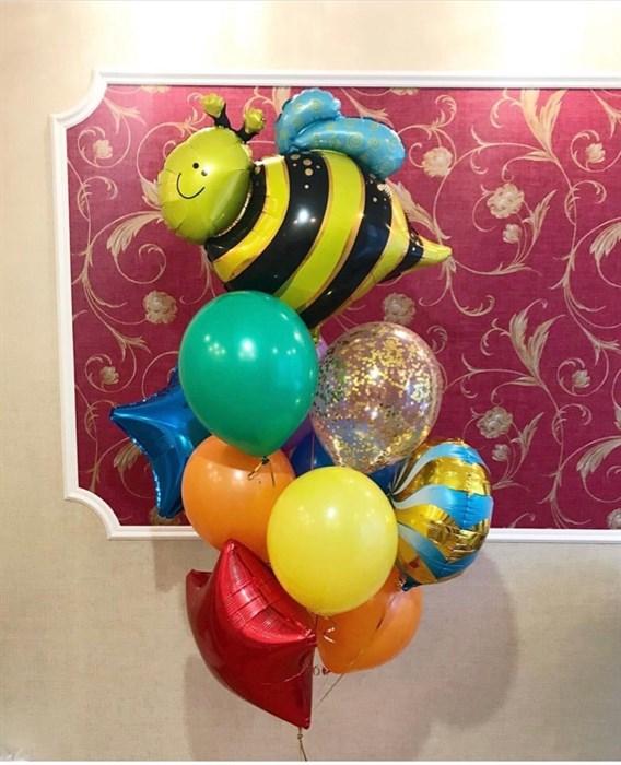 """Воздушные шары для детей """"Весёлая пчёлка"""" - фото 5471"""