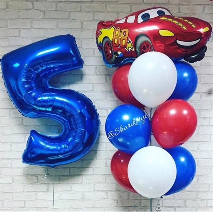 Воздушные шары из мультфильма Тачки - фото 5473