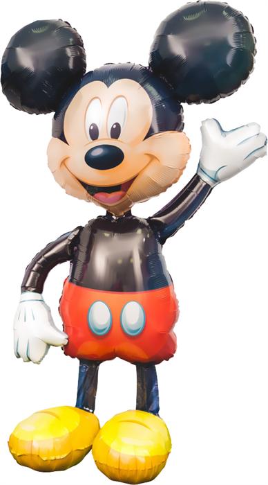 Ходячая фигура Микки Маус (132 см) - фото 5503