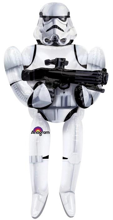 """Ходячая фигура Звёздные войны """"Имперский штурмовик"""" (177 см) - фото 5507"""