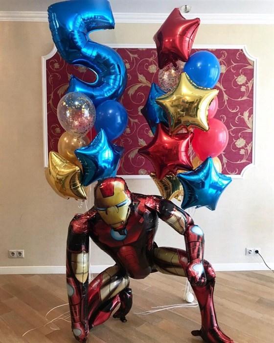 Набор воздушных шаров с персонажем мультфильма на день рождения! - фото 5540