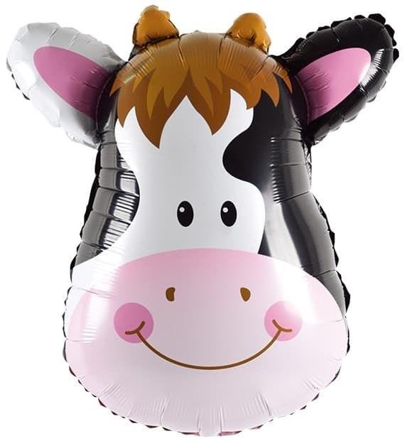 """Воздушный шар """"Голова коровы"""" - фото 5573"""