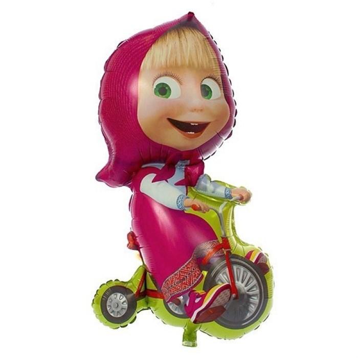 Воздушный шар -Маша на велосипеде - фото 5598