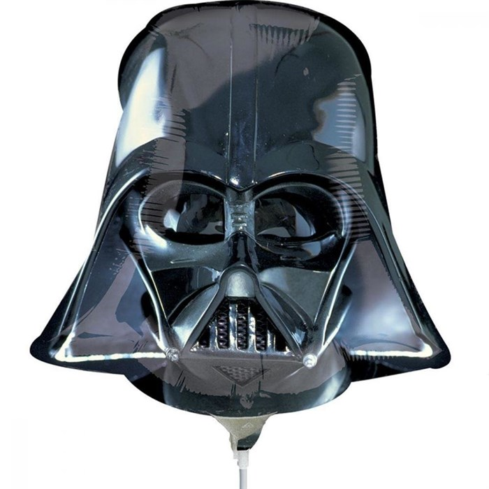 """Воздушный шар """"Шлем Дарт вейдера"""" (Звездные войны) - фото 5604"""