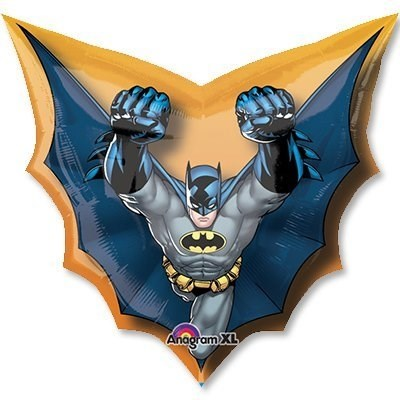"""Воздушный шар """"Бетмен в полете"""" - фото 5608"""