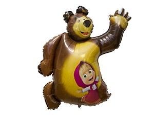 Воздушный шар -Маша и Медведь - фото 5685
