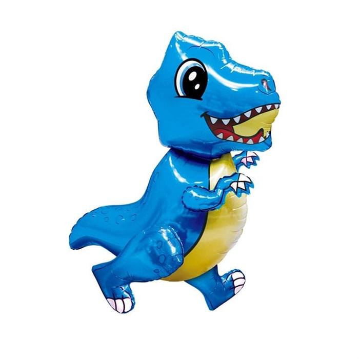 """Ходячая фигура """"Маленький динозавр"""" синий - фото 5733"""