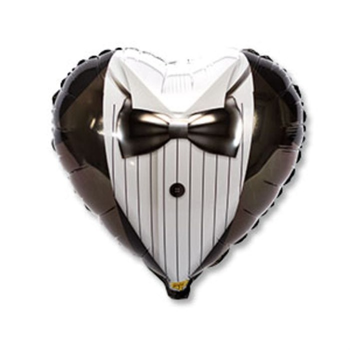 """Воздушный шар на свадьбу """"Жених"""" - фото 5775"""