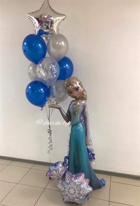 Набор воздушных шаров Холодное сердце - фото 5870