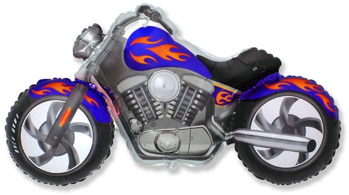 """Воздушный шар фольгированный """"Байк/Мотоцикл"""" - фото 5996"""