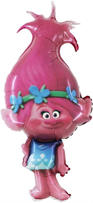 """Воздушный шар из мультфильма Тролли """"Розочка"""" - фото 6096"""