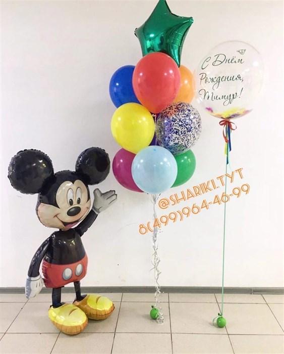 """Набор воздушных шаров """"Микки Маус ассорти"""" - фото 6127"""
