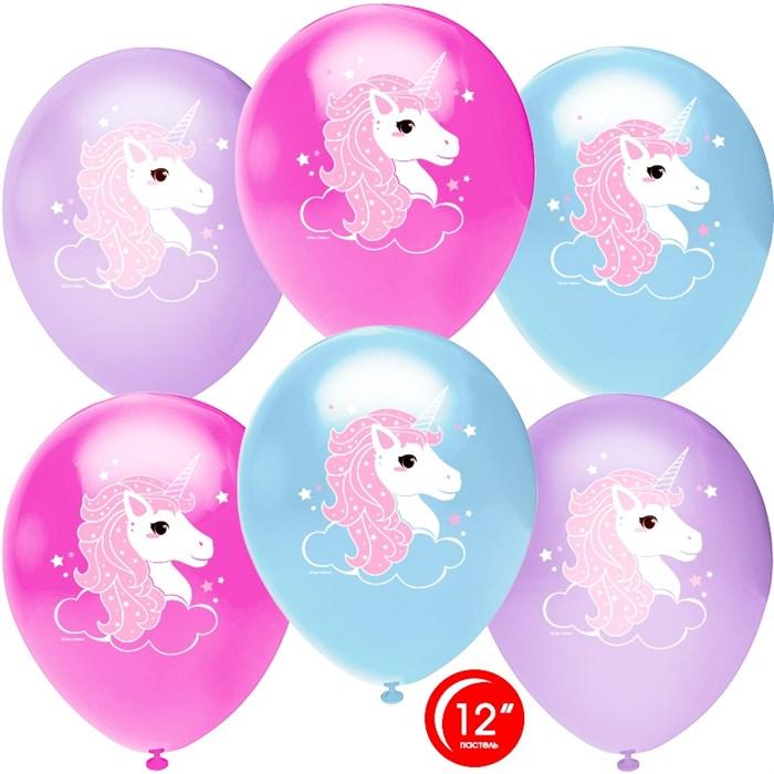 """Воздушный шары """"Волшебные единороги"""" - фото 6226"""