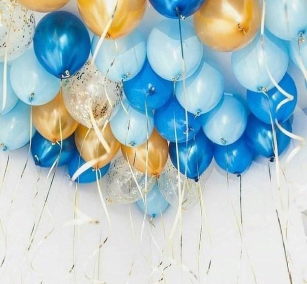 """Воздушные шары под потолок """"микс"""" - фото 6413"""