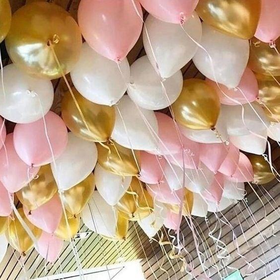 """Воздушные шары под потолок """"Нежное настроение"""" - фото 6417"""