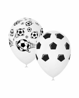 """Латексный воздушный шар 30 см """"Футбол"""" - фото 6649"""