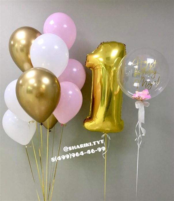Шарики на день рождения «Принцесса» - фото 6764