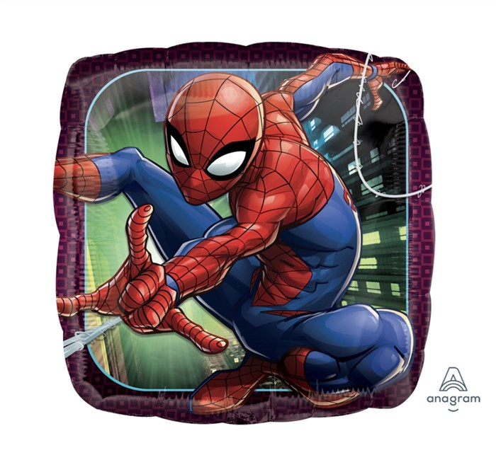 """Фольгированный воздушный шар  """"Человек паук"""" - фото 6784"""