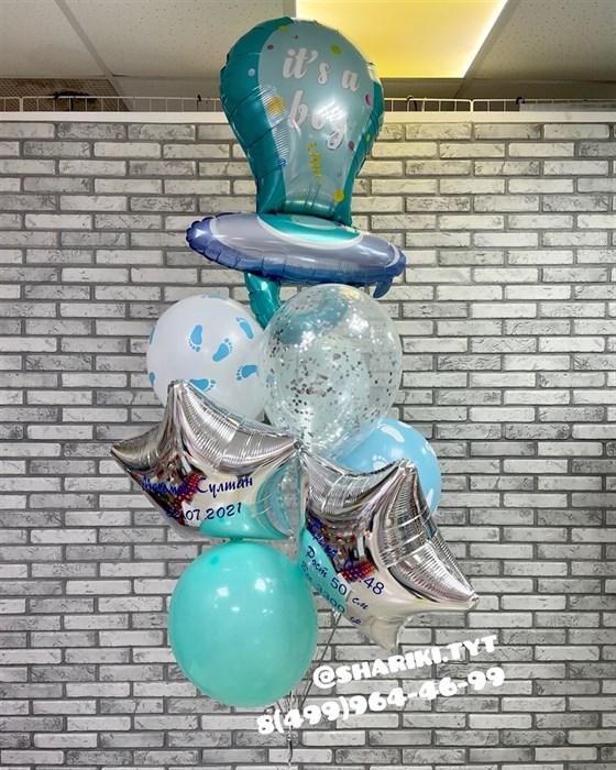 Набор шаров на выписку «Соска» - фото 6819