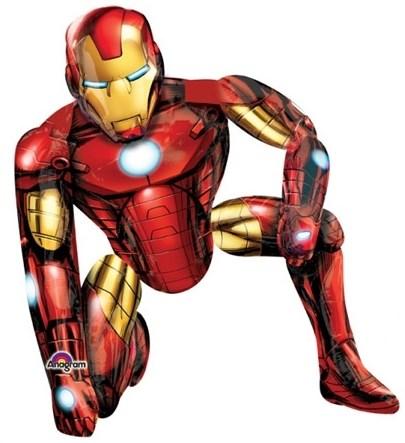 Ходячая фигура Железный человек  в упаковке - фото 7004