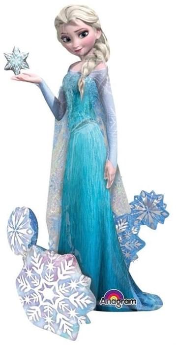 Ходячая фигура Холодное сердце. Принцесса Эльза. (144 см)  в упаковке - фото 7020