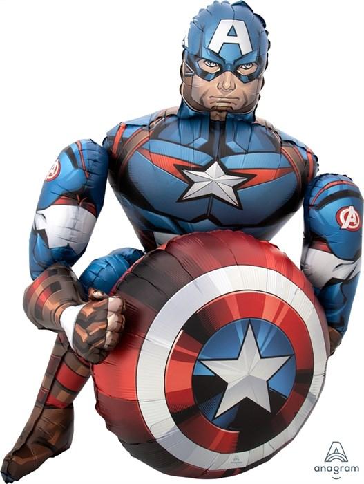 Шар ходячая фигура, Мстители, Капитан Америка - фото 7164