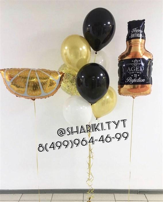 Набор воздушных шаров «Виски» - фото 7248
