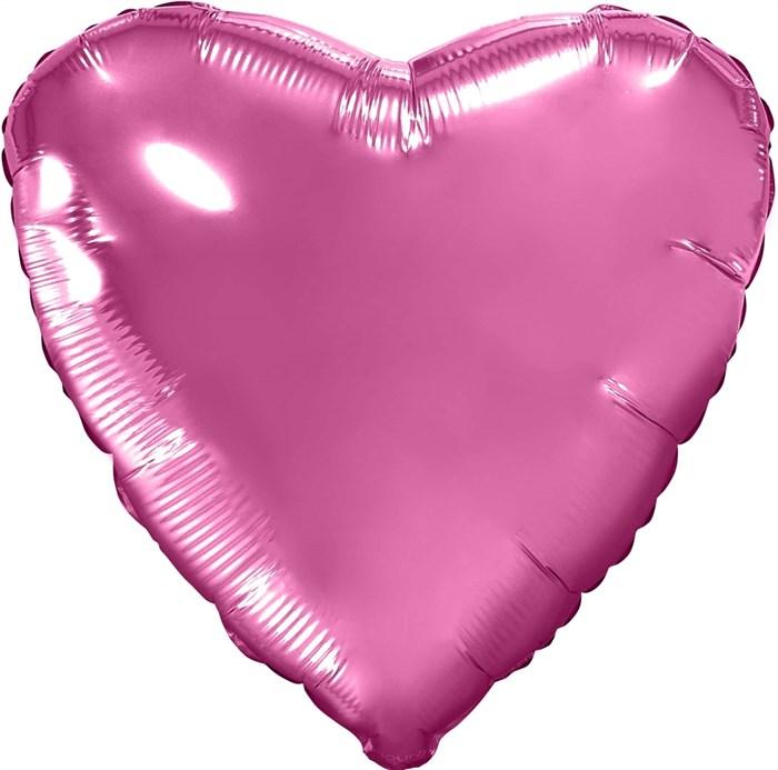 """Воздушный шар большое сердце """"Пион"""" - фото 7273"""