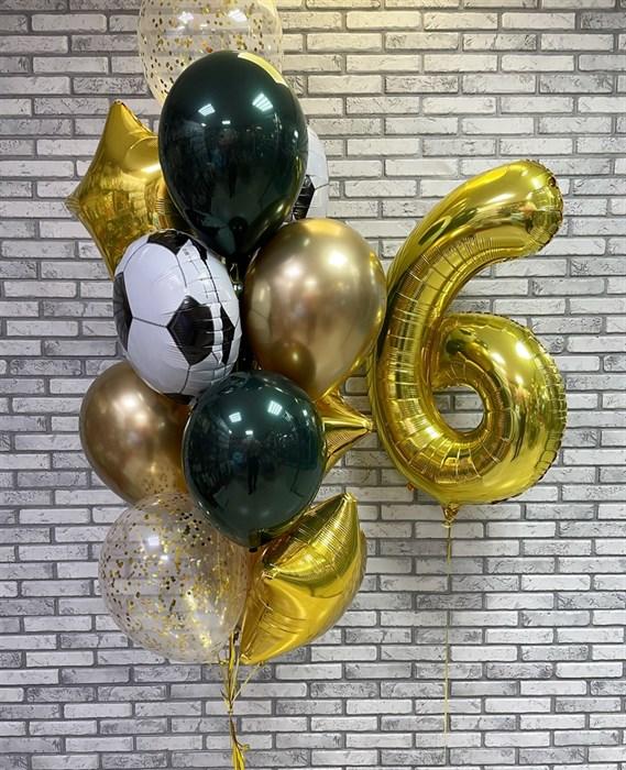 Набор из воздушных шаров «Футбольный сэт» - фото 7391