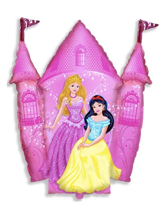 """Воздушный фольгированный шар """"Замок с принцессами"""" - фото 7398"""