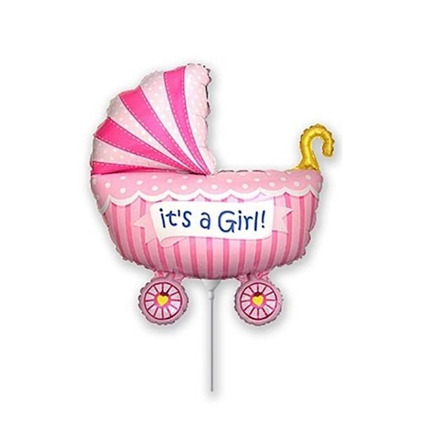 Мини фигура для девочки коляска на выписку - фото 7445