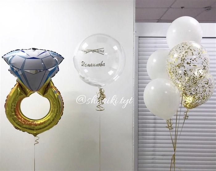 Набор  воздушный шаров  на девичник - фото 7598