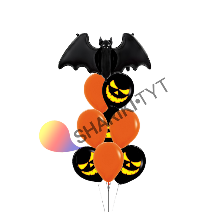"Набор воздушных шаров на Хэллоуин ""Мышка"" - фото 7650"