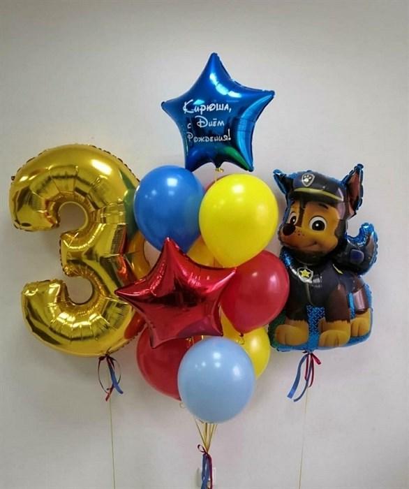 Набор воздушных шаров «Собачка» - фото 7670