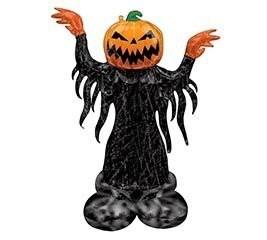 Напольный шар ходячая фигура на Хэллоуин «Тыква» - фото 7726