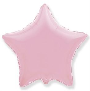"""Воздушный шар звезда 46 см """"Розовый"""""""